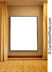 框架, 藝術, 畫廊, 空白