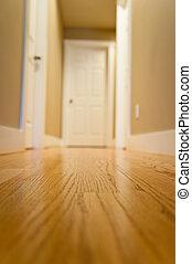 Hallway inside a home
