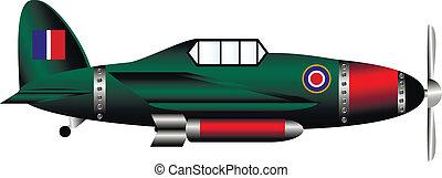 British WW2 fighter