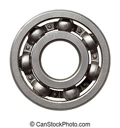 Ball bearing - Used metal ball bearing, isolated