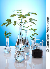 Eco plant - Recycling plant, ecology background
