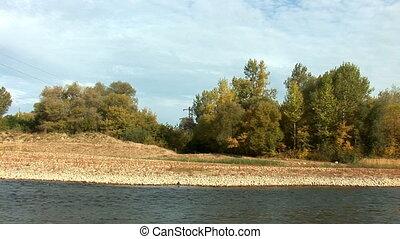 river prut 17 - autumn morning on the river (river Prut,...