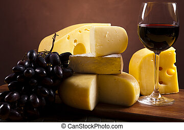 Cheese and red wine - Cheese and red wine