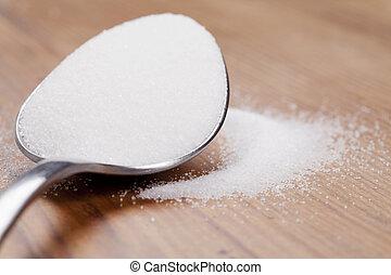 colherada, Açúcar