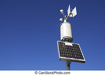 Weather station - Weahter station for measuring wind...