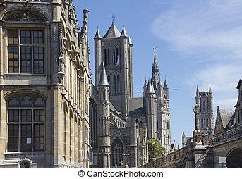 Ghent Churches, Belgium