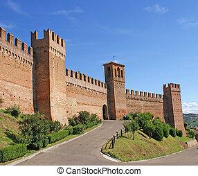 Town Walls of Gradara, La Marche, Italy
