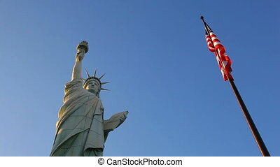 This is america - Statue of Liberty in Las vegas