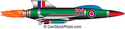 British jet-fighter