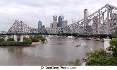 Story Bridge 2 - The iconic Story Bridge spanning the...
