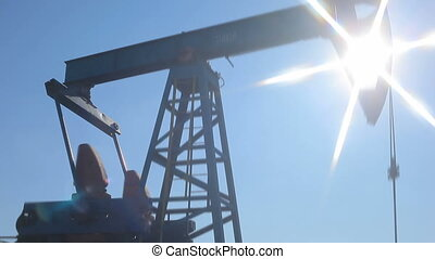 Pumpjack working