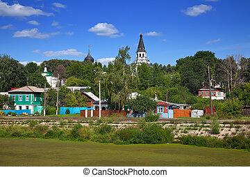 old district in Aleksandrov