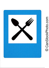 Traffic sign -restaurant