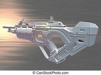 3D hightech weapon