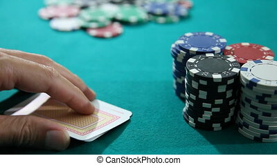 Poker 2 - Texas Holdem Poker Aces and Chips, shoot Canon 5D...