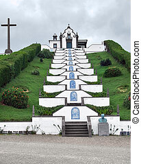 church at Sao Miguel Island