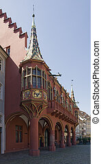 Historical Merchants Hall of Freiburg im Breisgau -...