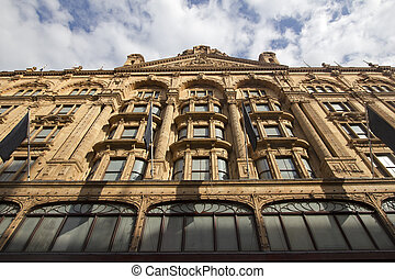 Harrods, London - Harrods Department Store in London, UK