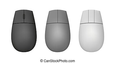vector mouse for your design