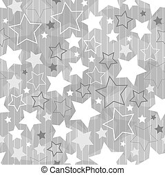 Stars - Seamles pattern with Christmas stars