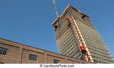 Condo construction. - Condominium being built in Toronto,...