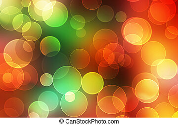 colorful abstract bokeh