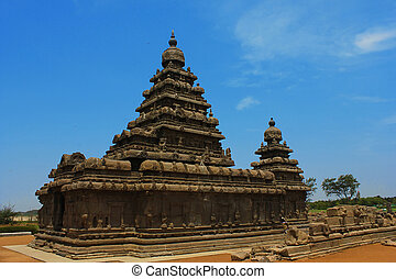 Mamallapuram, shore temple,India
