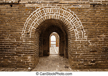 Arches On The Great Wall of China