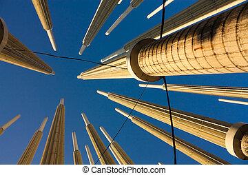 Plaza Cisneros, Medellin, Colombia - Cisneros square, also...