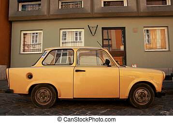 Old eastern Europe car - Image of an old eastern Europe car