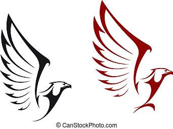 adelaar, Mascots