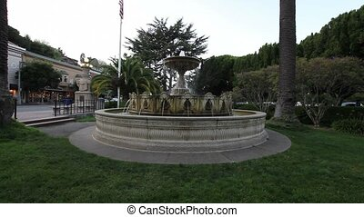 Water Fountain in Sausalito SF