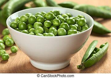 Fresh raw green pea