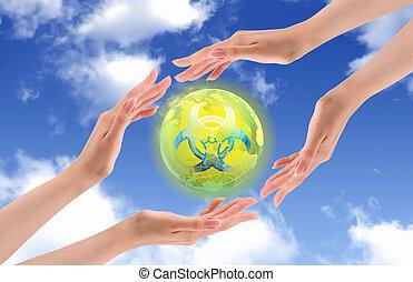世界, 保護しなさい, 放射性