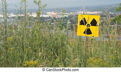 radiation 7 - Nuclear radiation or radioactivity warning...