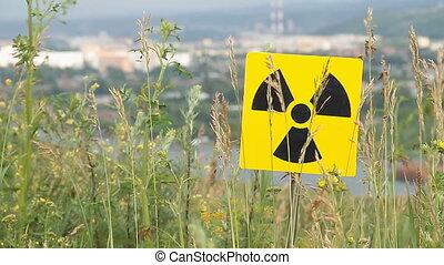 radiation 9 - Nuclear radiation or radioactivity warning...