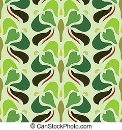 Art deco seamless pattern in editable vector file