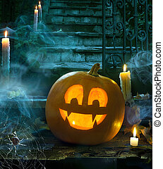 Halloween party design - Halloween party at the cemetery at...