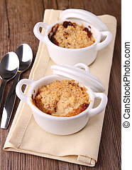 crumble - delicious apple crumble