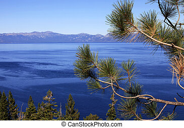 Lake Tahoe - clean waters of Lake Tahoe, USA