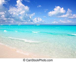Illetes Formentera East beach tropical turquoise - Illetes...