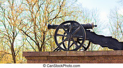 Artillery at Andersonville  - Big old Gun at Andersonville
