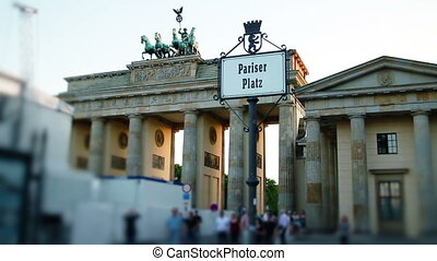 BERLIN - June 27, 2011, Brandenburg Gate