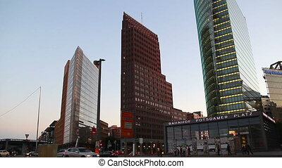 BERLIN - June 27, 2011, Potsdamer Platz