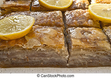 baklava traditional middle east sweet desert
