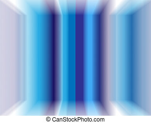 Blue strips 3D background
