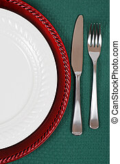 Tisch, Einstellung, Weihnachten