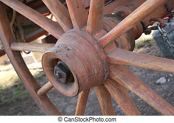 Wagon Wheel - An old western style wagon wheel
