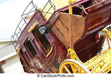 Stage Coach - An old stage coach from the 1800s