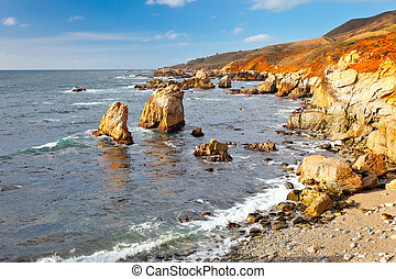 Big Sur, Pacific Ocean coast